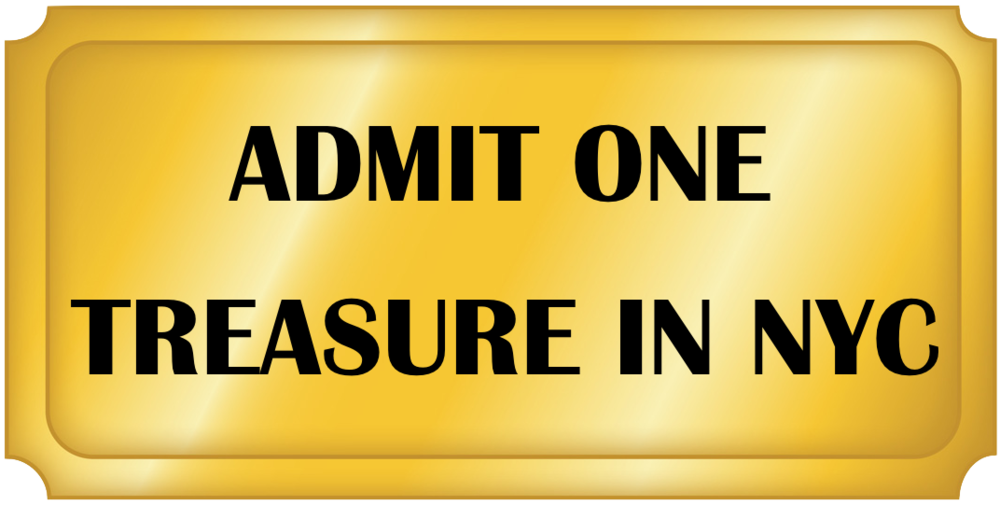 tickets to treasure in nyc september 29th 11 00am kaiser s room