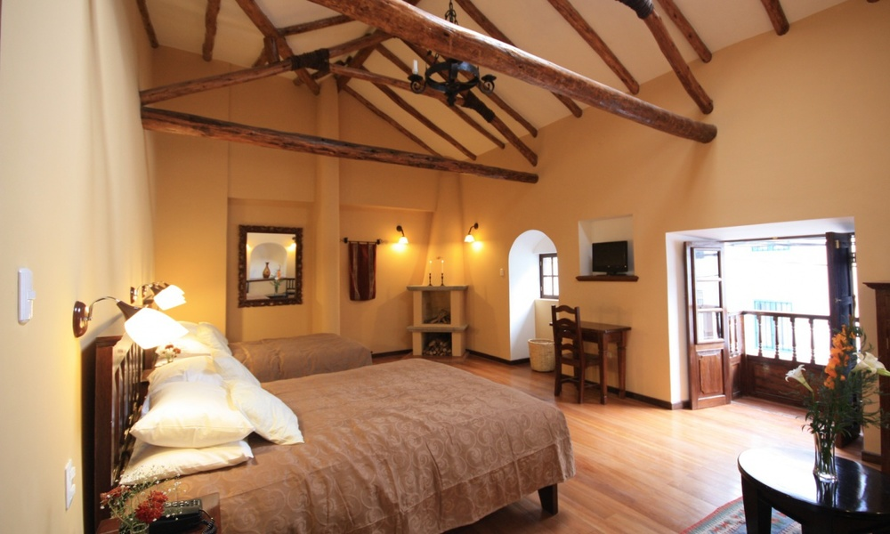 Andenes al Cielo ~ Deluxe room with Fireplace