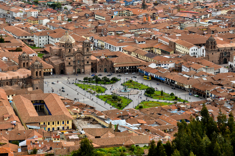 Cusco  ~  Plaza de Arma