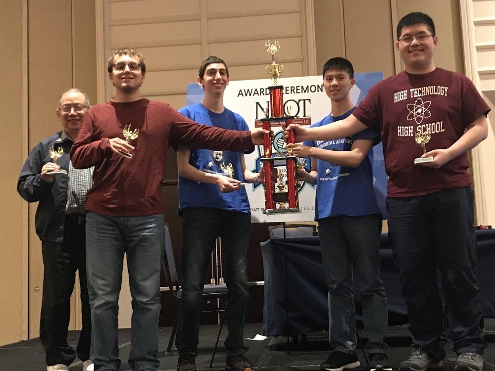 Academic Team 2019 A-Team trophy.jpeg