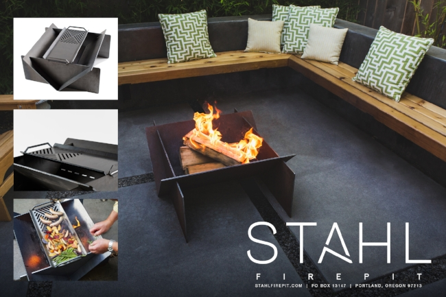 Our friends at Stahl Firepit in Portland, OR have designed and manufactured a simple and beautiful firepit made from A36 hot rolled steel. Built to last a lifetime right here in the USA. Please visit their site for more information.