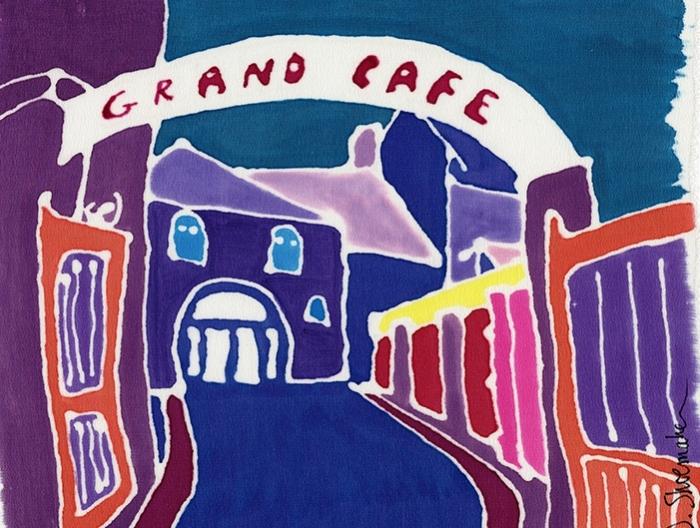 Le Grand Café. Felletin, France