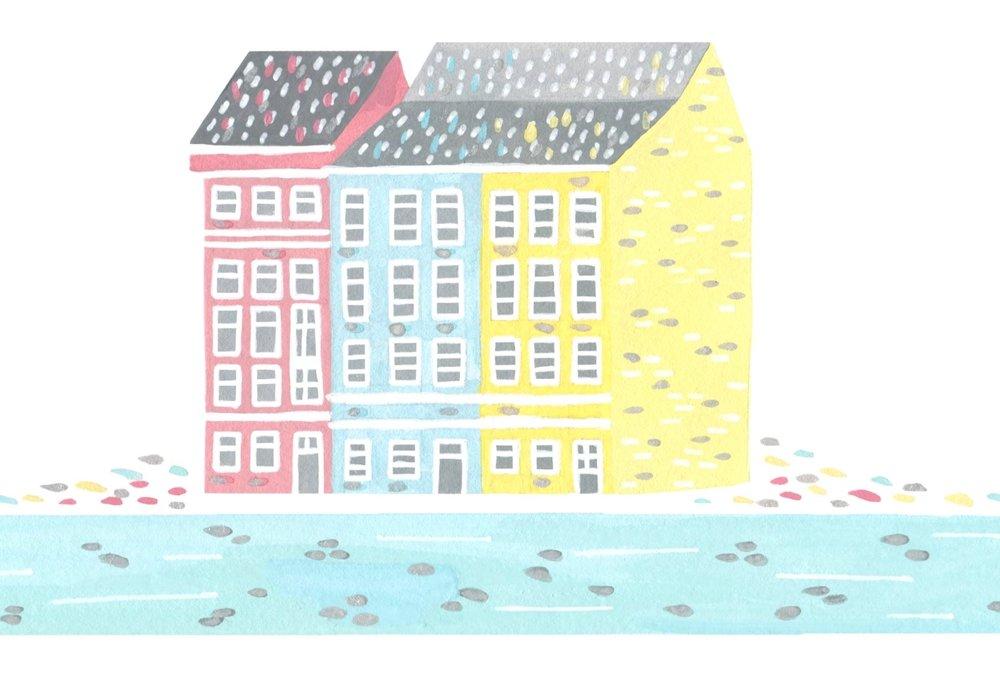 Pastel Copenhagen House