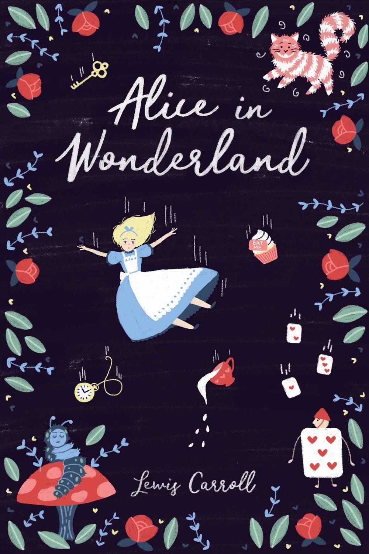 Alice in Wonderland Illustration Book
