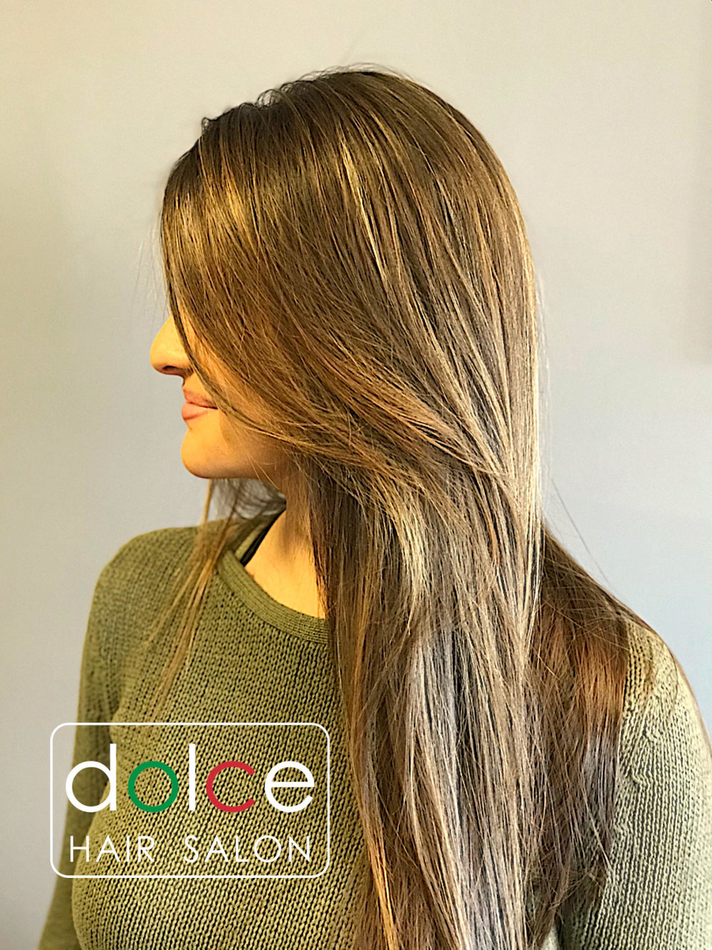 Dolce Hair Salon Pictures Soft Natural Balayage Long