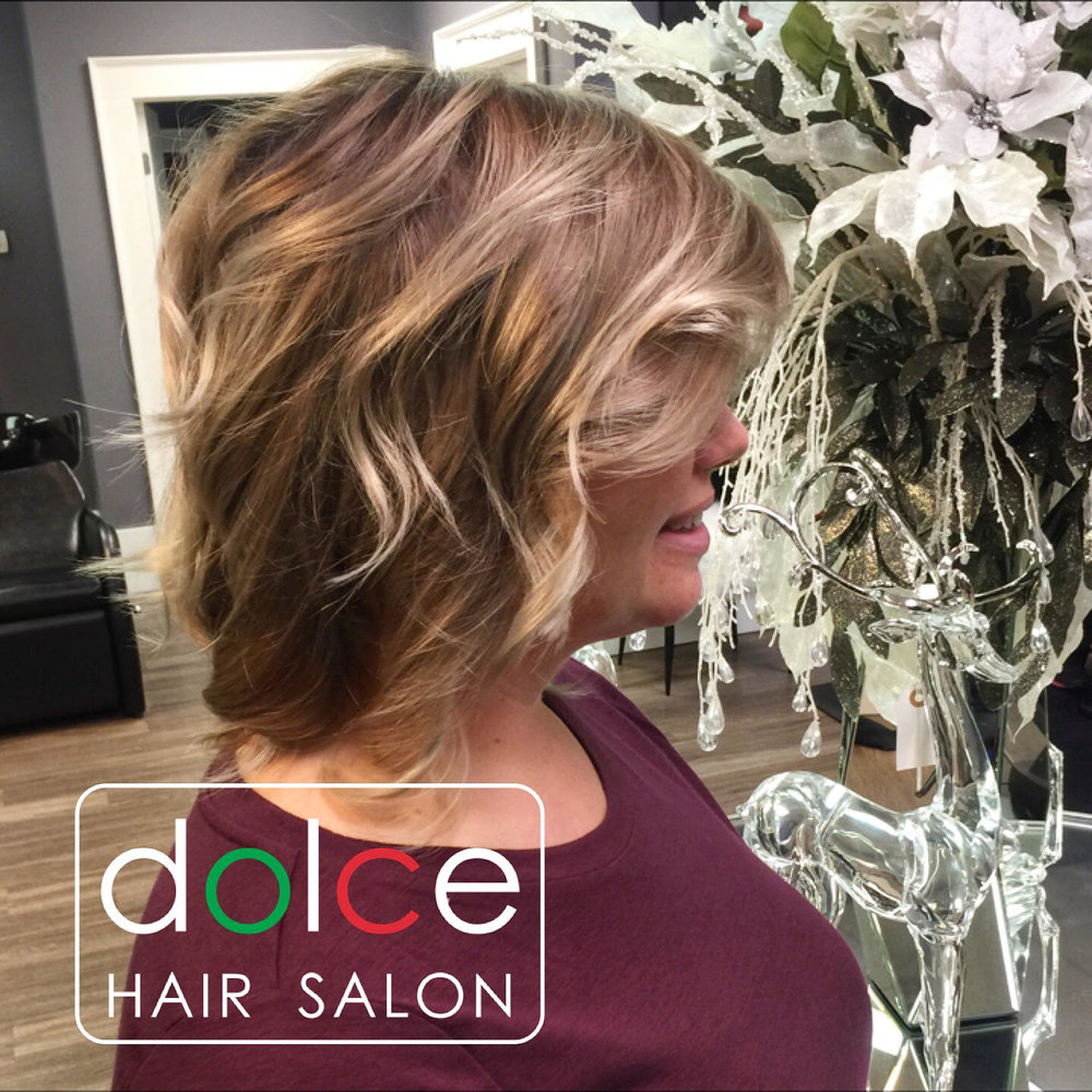 Dolce Hair Salon Pictures Pics Dimensional And Playful Haircolor