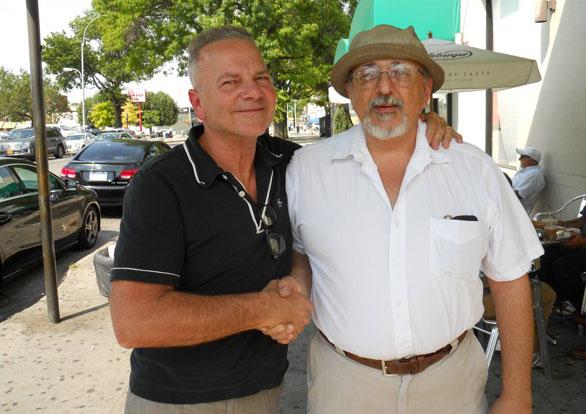 L-R: Jim Gottier, Danny Barouty