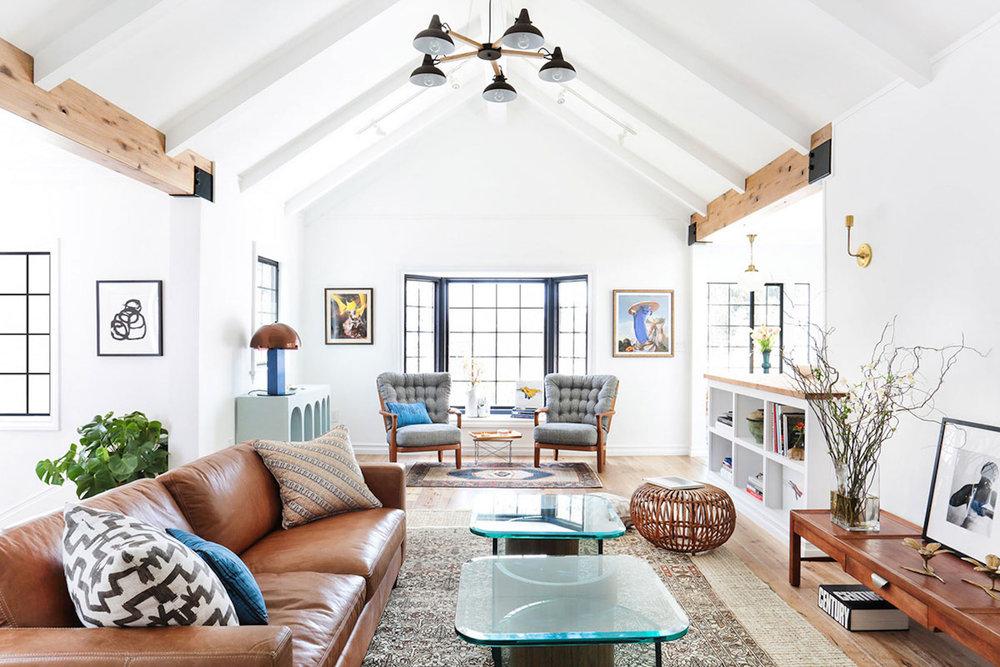 Silver Lake Open Plan Living Room