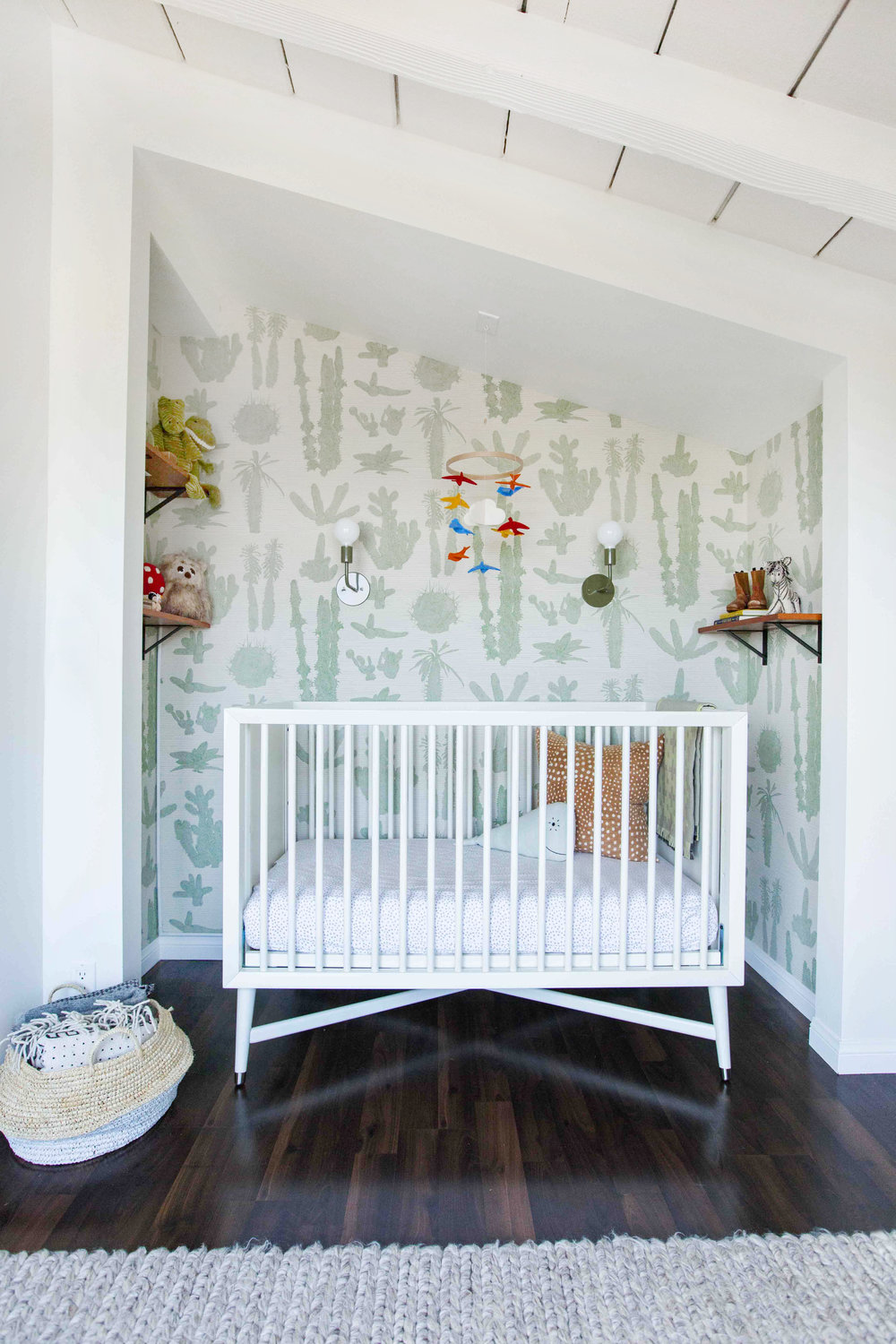 Forget Pink and Blue—Gender-Neutral Is 2017's New Nursery Trend - by GABRIELLE SAVOIE