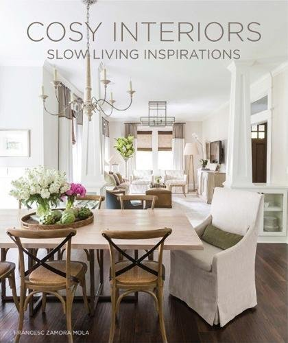 COSY INTERIORS: SLOW LIVING INSPIRATIONS - by Macarena AbascalSlow living is a lifestyle emphasizing slower approaches to aspects of everyday life. This beautiful book shows relaxed home interiors as a reaction to discomforts in materialistic and industrial lifestyles. This are interiors designed and organized around natural materials, friendly furniture and kind distributions to create pleasant atmospheres in today's living spaces.