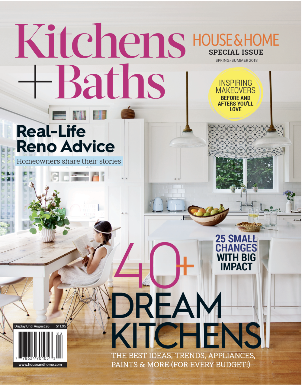 Kitchen & Bath Special IssueSpring/Summer 2018 - FRESH STARTby Emily EvansA designer for stars like The Handmaid's Tale's Samira Wiley, Stefani Stein shares advice for creating kitchens and bathrooms that are trendy yet timeless.