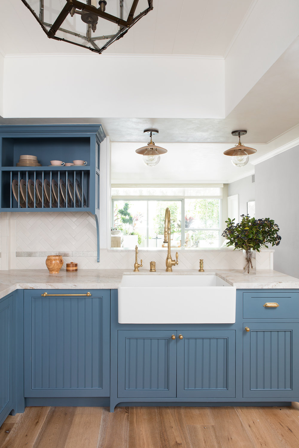 Hands Down: The 10 Best Blue Paint Colors for Kitchen Cabinets - Featuring our favorite kitchens.BY LYDIA GEISEL