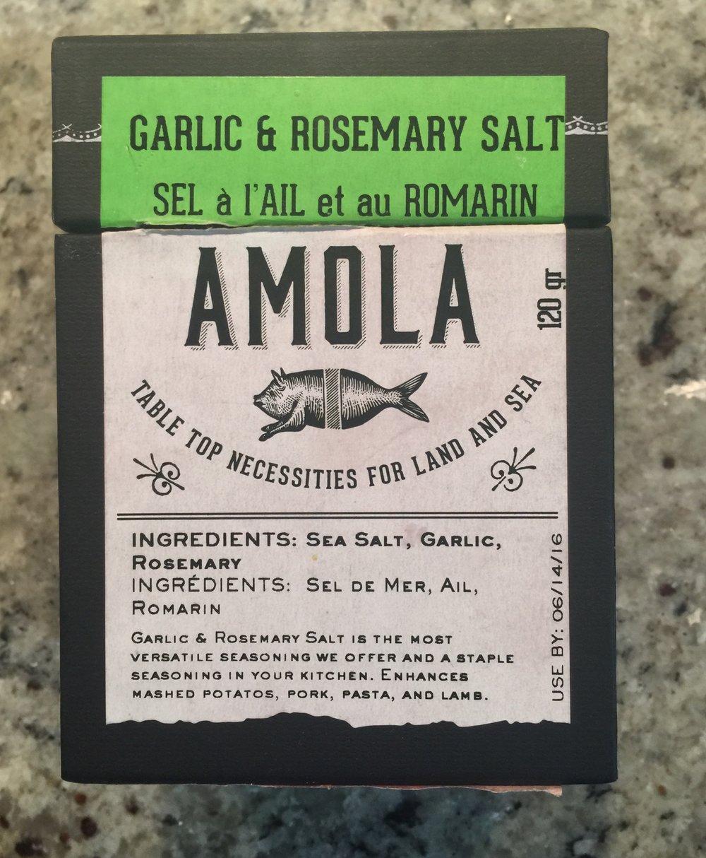 Amola Garlic & Rosemary Salt