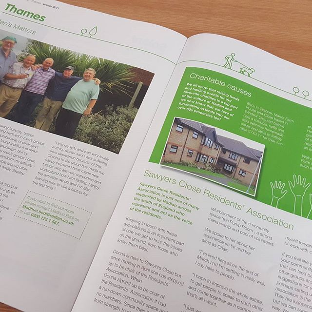 Spread from rmag #design #social #housing #radian @frostcreative_hampshire