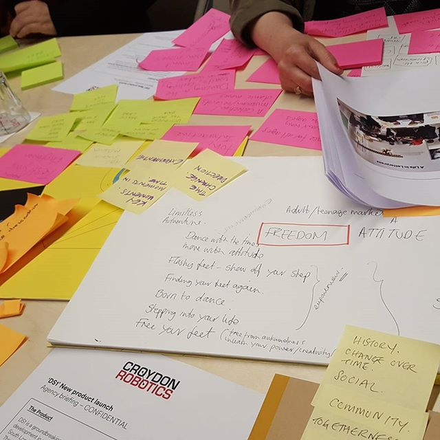 Brainstorming yesterday #d&ad #training #ideasideasideas