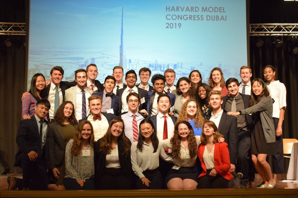 Our Harvard students who served as staffers for the 2019 conference!