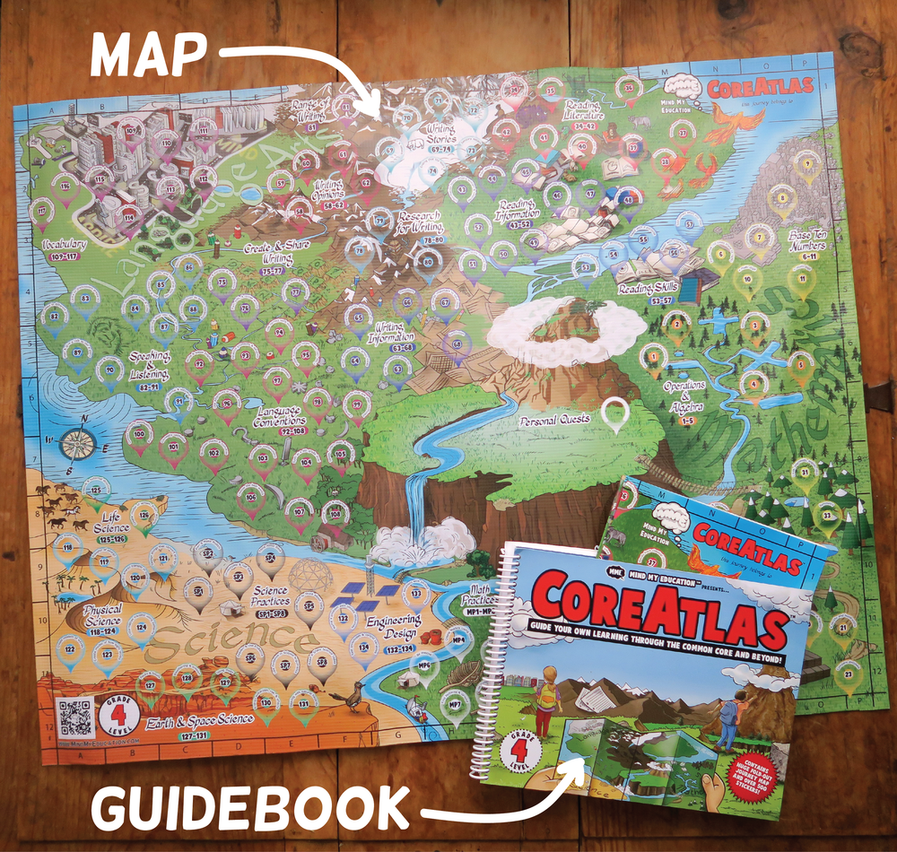 MME_CoreAtlas_4th grade map and guidebook