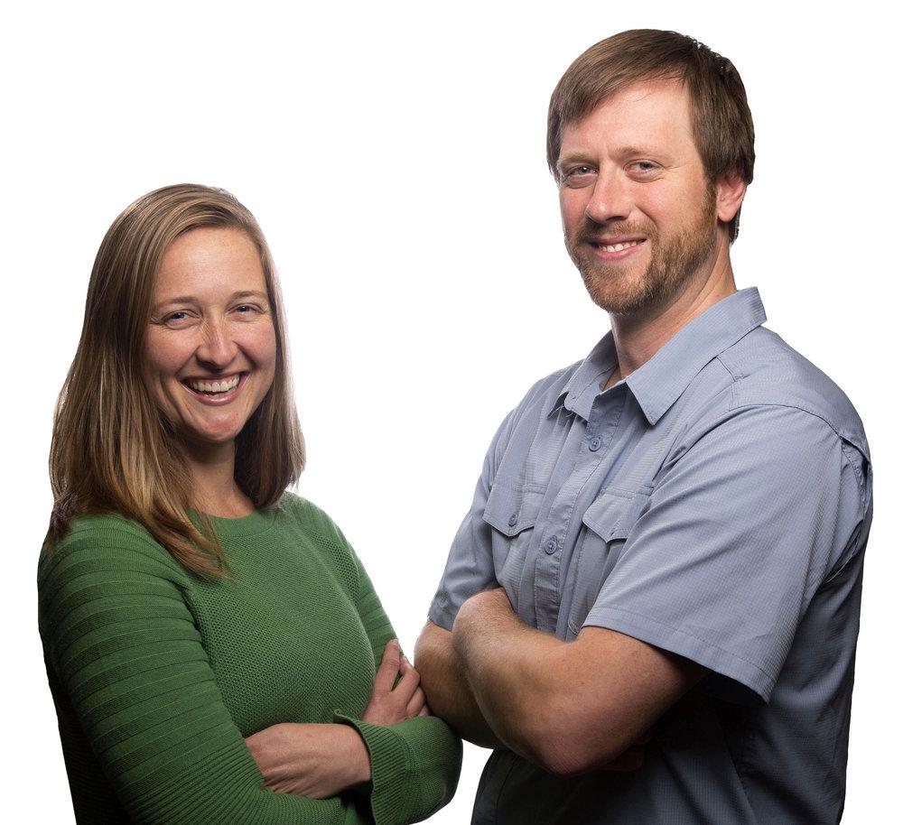 CoreAtlas co-creators, Sara & Paul