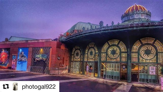 #Repost @photogal922 ・・・ Nice night for a walk in Asbury Park. #asburypark #myasburypark