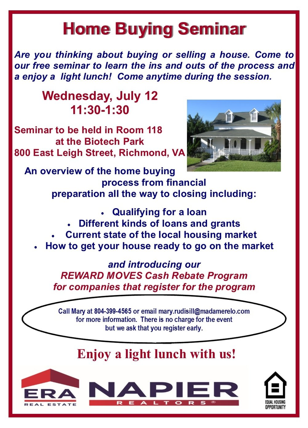 Home Buying Seminar BioTech