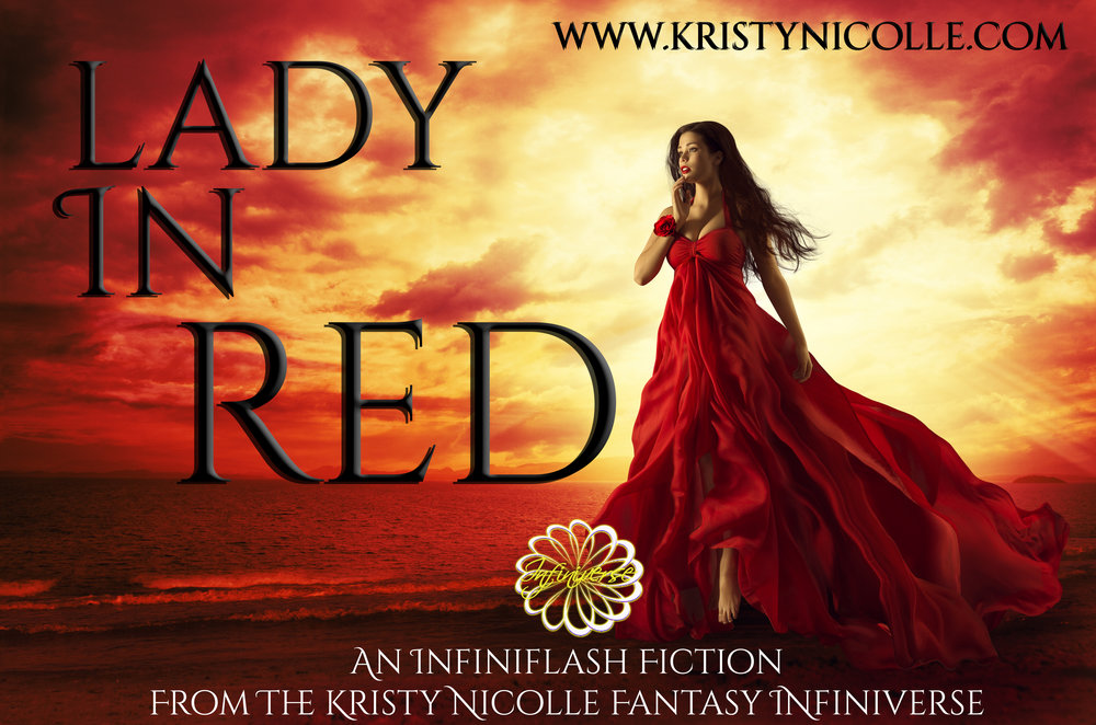 Lady in red- Flash fiction by Kristy Nicolle