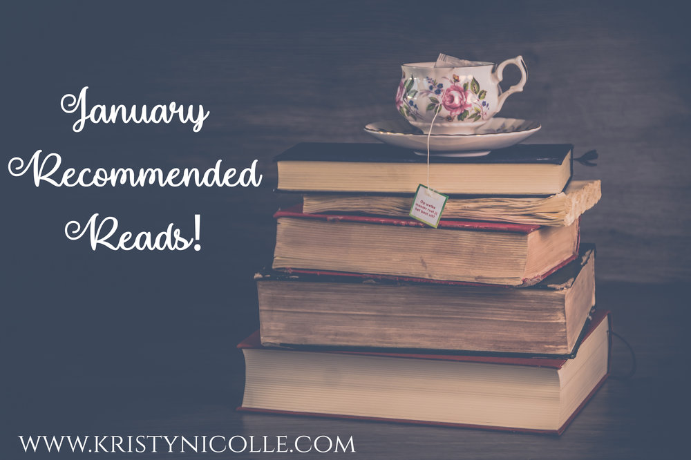 January Recommended Reads by Kristy Nicolle