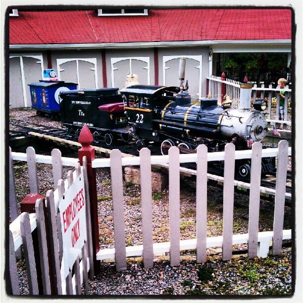 #Tiny Town,#trains,  http://instagr.am/p/PCyMZHsBtL/