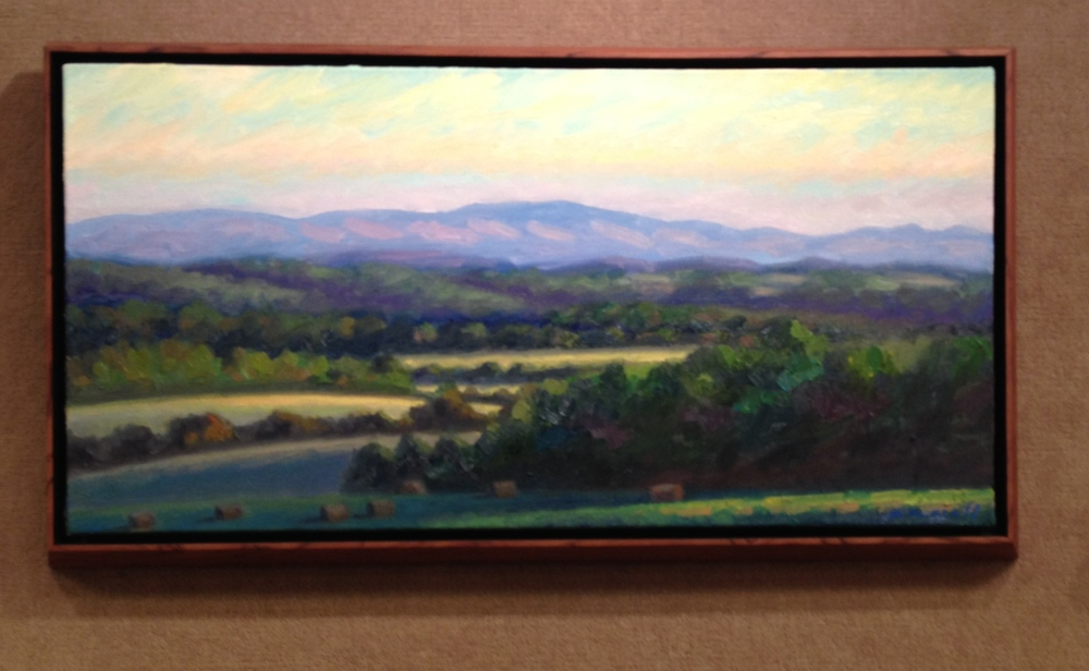 Looking East 17.5 X 32 inches  $975.