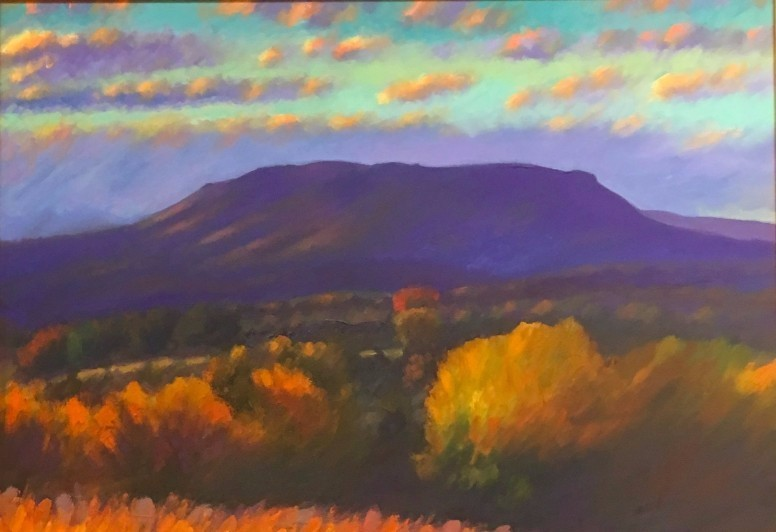 House Mountain in Autumn 42 X 42 inches $2400