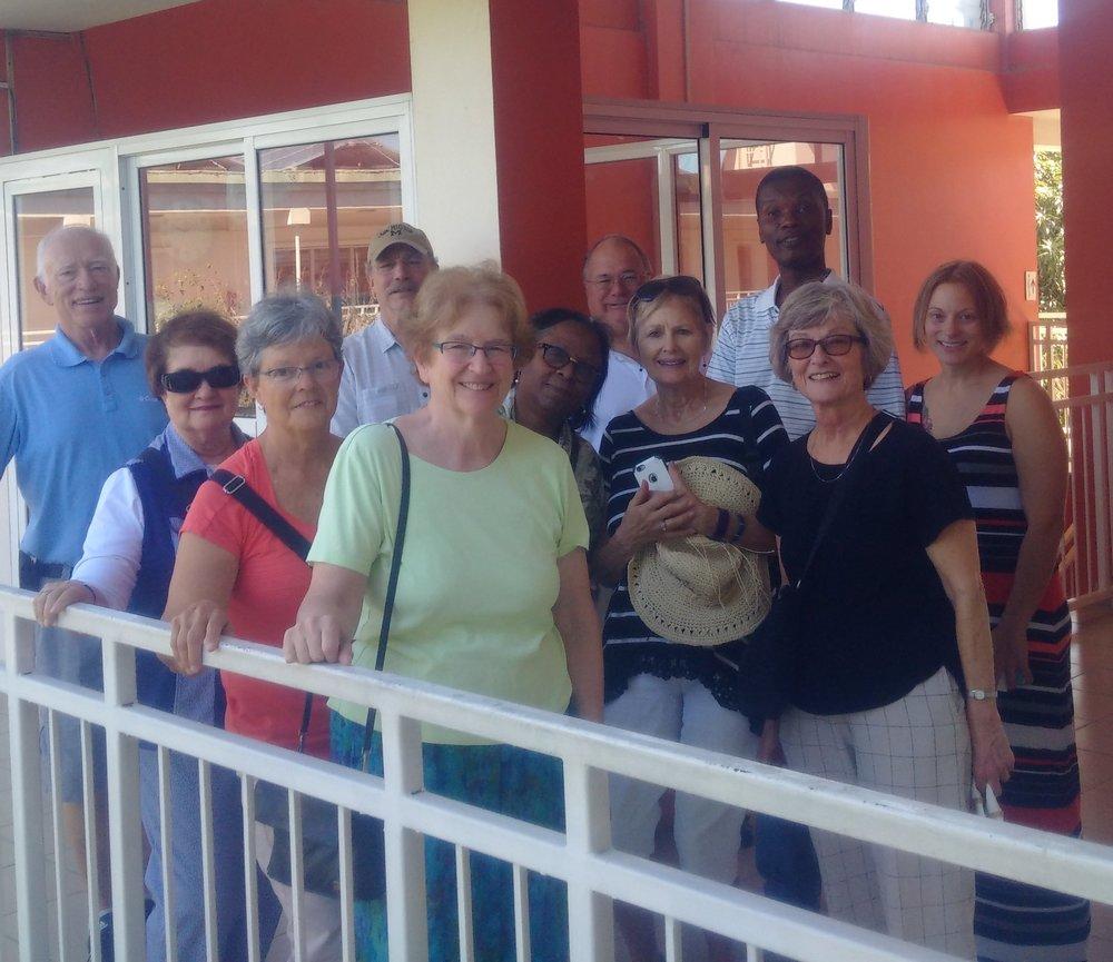 Joanne Pohl - St. Damien visit FSIL visitors.jpg