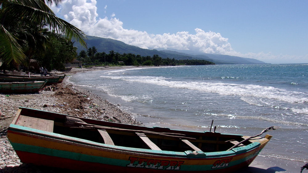 Beautiful Haitian coast