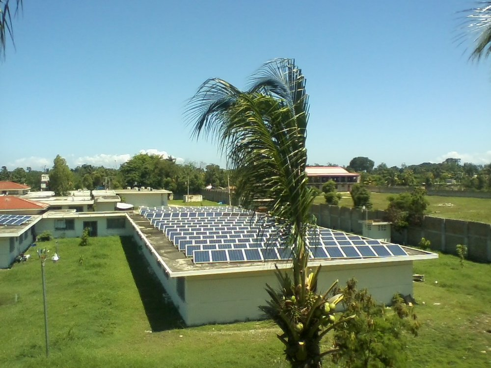 Solar panels on FSIL buildings