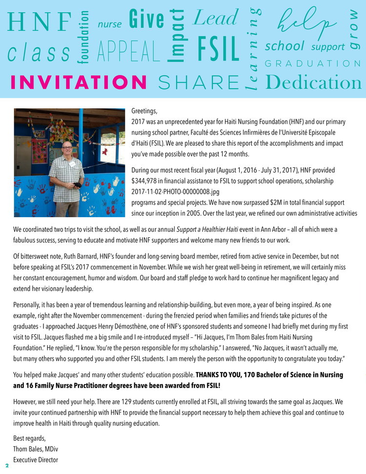 News + Events — Haiti Nursing Foundation