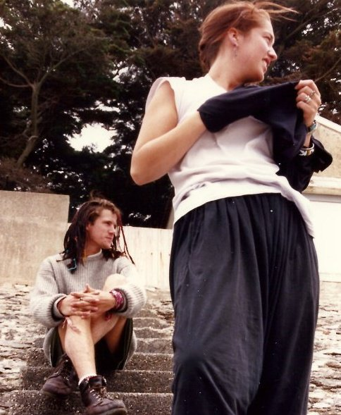 Carrie &   Roderick in France 1987