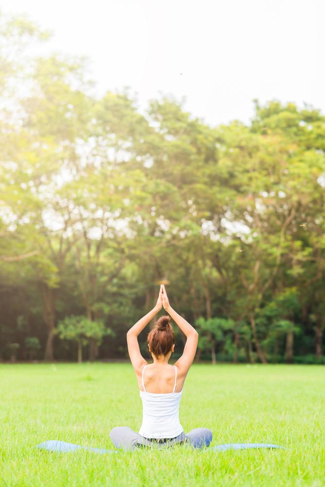 CJoy Yoga in Pioneer Park