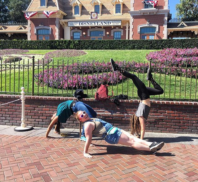 When AcroStaff go to Disney... After learning SO many new and exciting things at #USAGCongress, you have to celebrate!