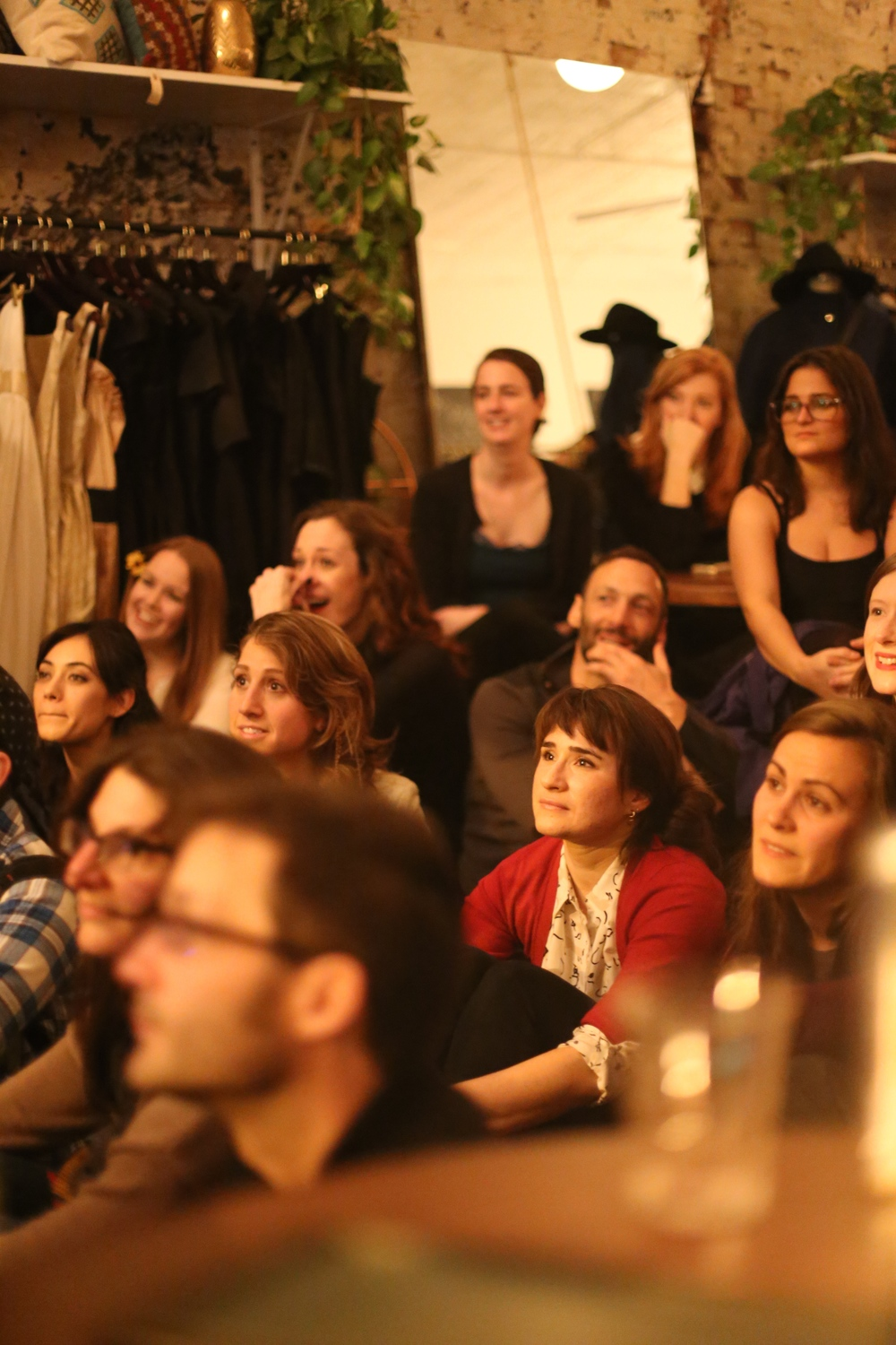 The very first FTO audience, Nov. '14