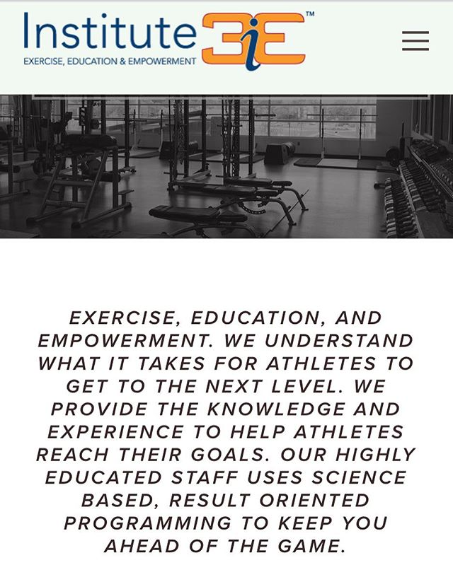 We've added something new to our website!👀 Be sure to check out the link in our bio and subscribe if you haven't already! Useful information on training and supplements, what do you have to lose??? #i3e #training #supplements #strength #strengthandconditioning