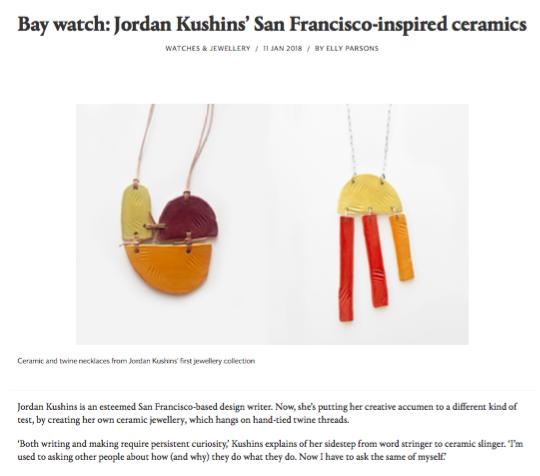 Jordan Kushins on wallpaper.com