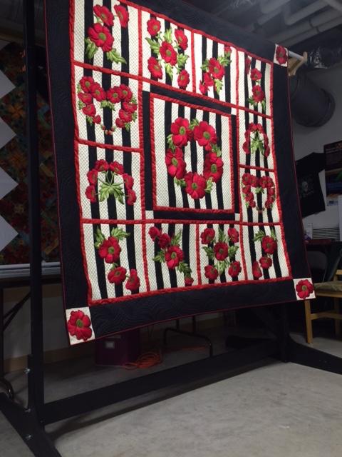 Charlotte's silk quilt