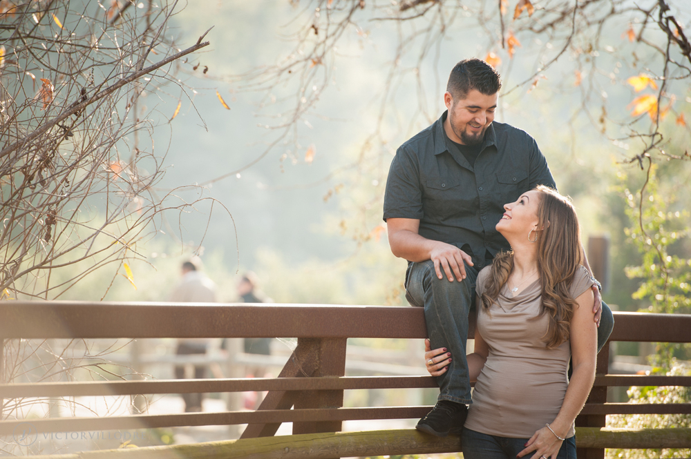 Engagement Session at Discovery Lake in San Marcos | Victor Villodre Photography