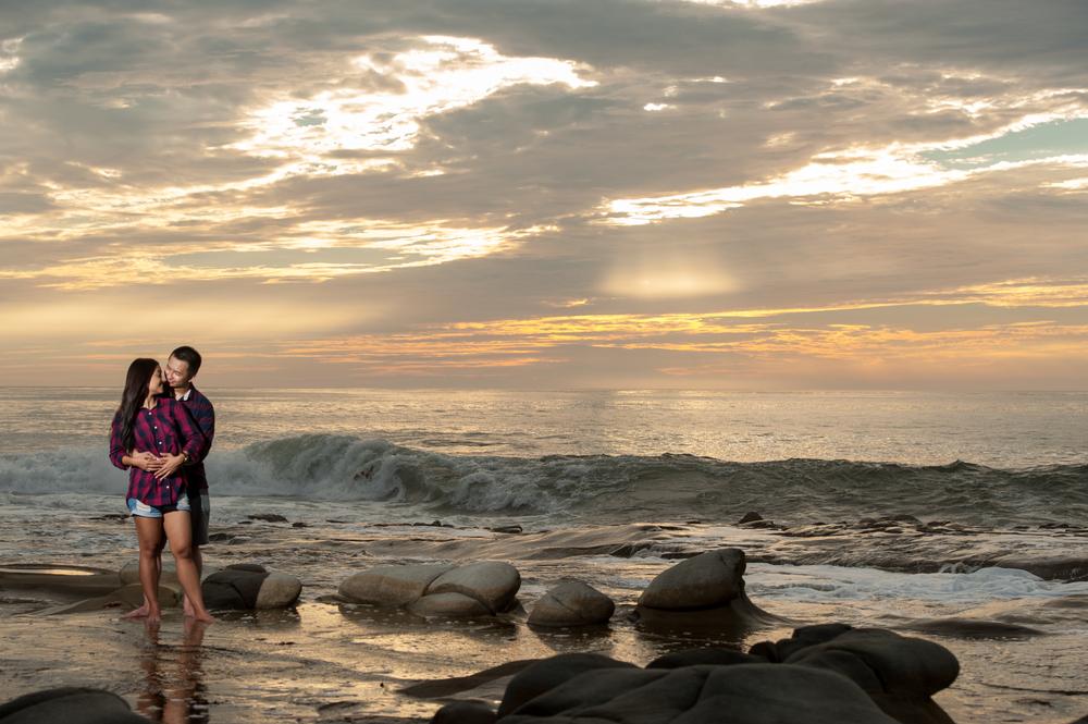 La Jolla Cove Engagement Photography
