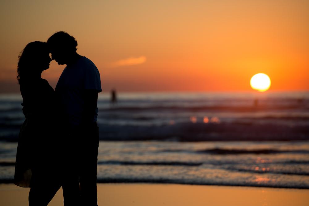 Del Mar Beach Engagement Pictures