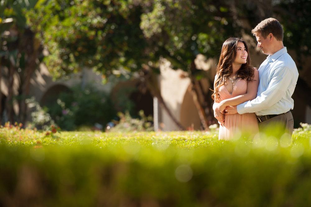 Balboa Park, San Diego Engagement