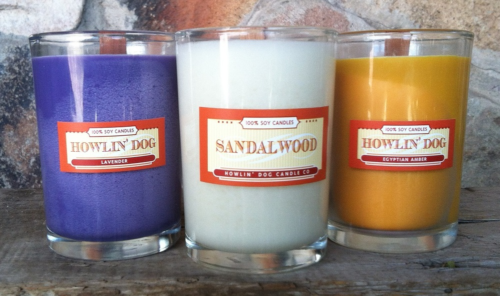 Howlin Dog Candles