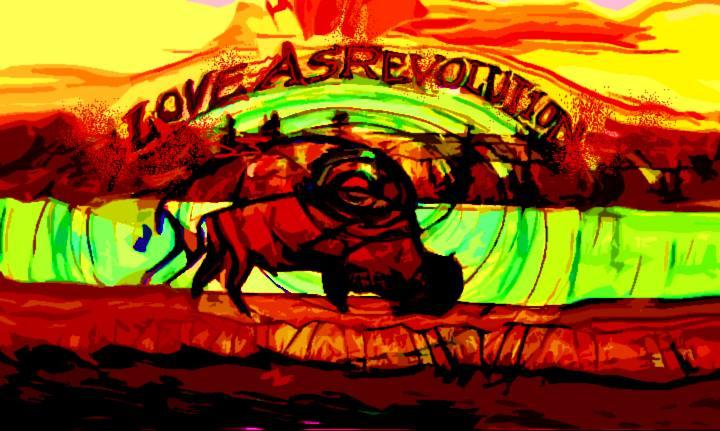 loveASrevolution Festival Mural