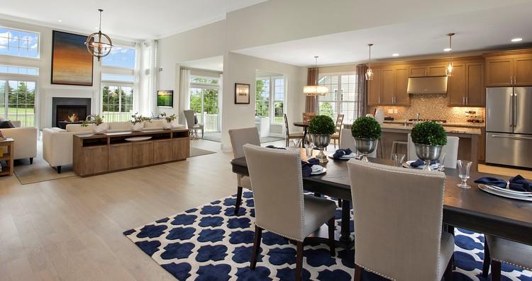 Portfolio – Model Home Living Rooms