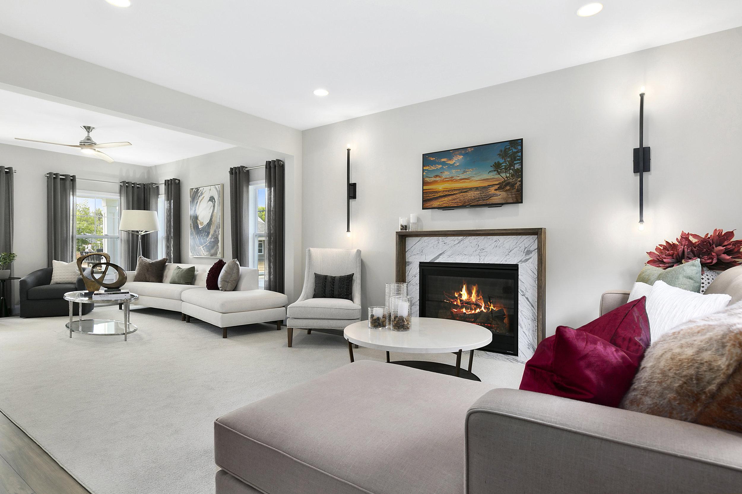 Model Homes - Lita Dirks & Co. Interior Design and Merchandising Firm