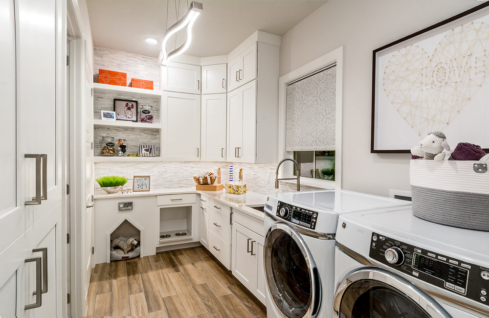 Offering plenty of options for the use of rooms allows potential buyers more ways to see themselves as the home owner.
