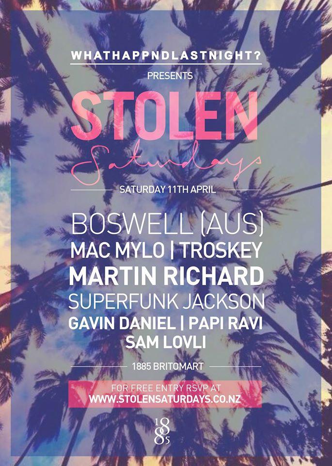Stolen Saturdays